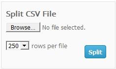 LinkMyDeals CSV Splitter